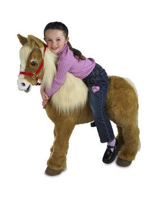 Butterscotch the pony...