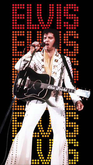 Don't be scared, it's just Elvis
