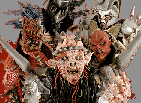 Don't be scared.  It's just Gwar.