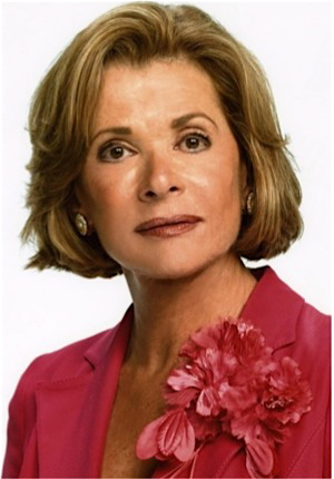 The sozzled Lucille Bluth