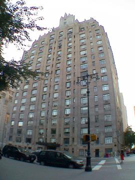 Central Park West...Dana Barret's Apartment