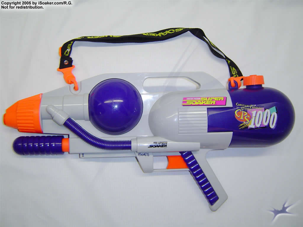 Super Soaker Water Guns With Backpack My second gun